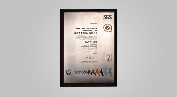 2010年ISO9001:2008质量体系证书